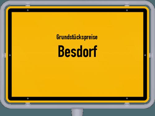 Grundstückspreise Besdorf 2021