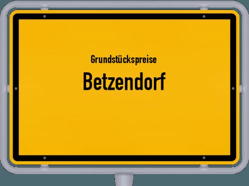 Grundstückspreise Betzendorf 2021