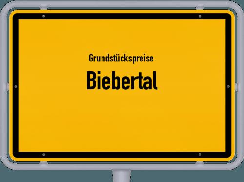 Grundstückspreise Biebertal 2019