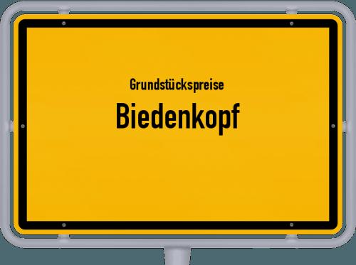 Grundstückspreise Biedenkopf 2018