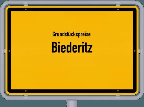 Grundstückspreise Biederitz 2021