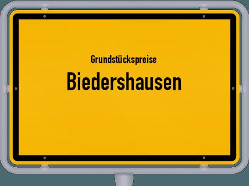 Grundstückspreise Biedershausen 2019