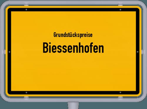 Grundstückspreise Biessenhofen 2019