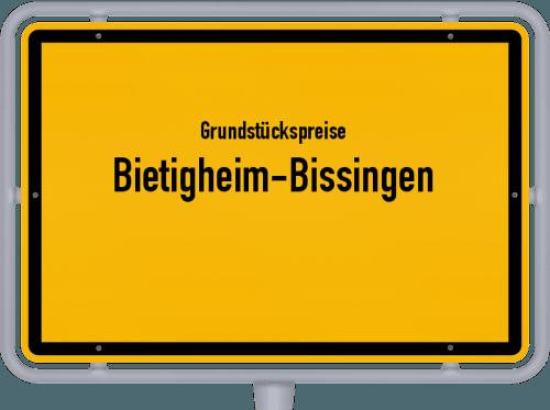 Grundstückspreise Bietigheim-Bissingen 2021
