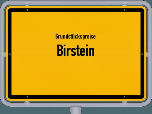 Grundstückspreise Birstein 2019