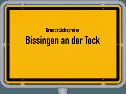 Grundstückspreise Bissingen an der Teck 2018