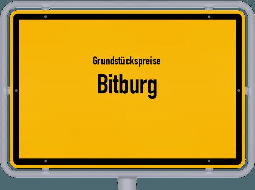 Grundstückspreise Bitburg 2019