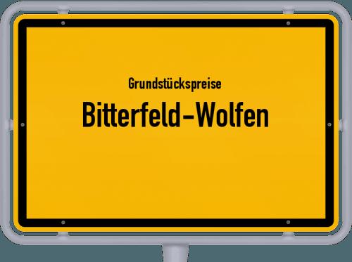 Grundstückspreise Bitterfeld-Wolfen 2021