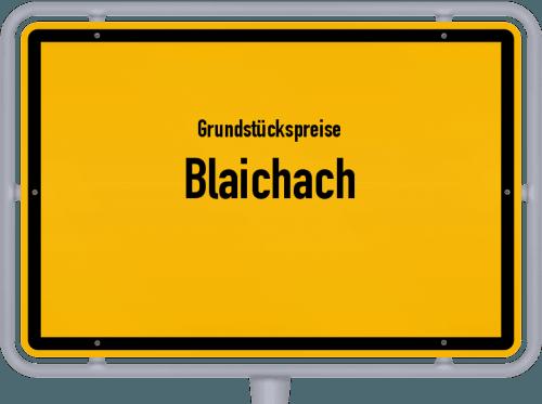 Grundstückspreise Blaichach 2019