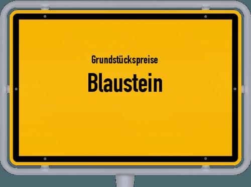 Grundstückspreise Blaustein 2021