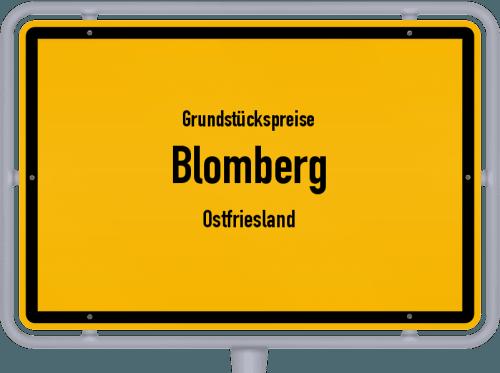 Grundstückspreise Blomberg (Ostfriesland) 2019
