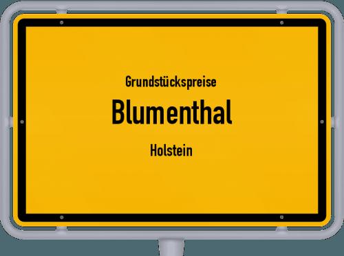 Grundstückspreise Blumenthal (Holstein) 2021