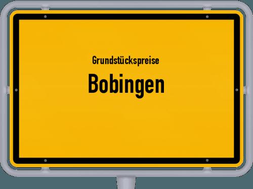 Grundstückspreise Bobingen 2021
