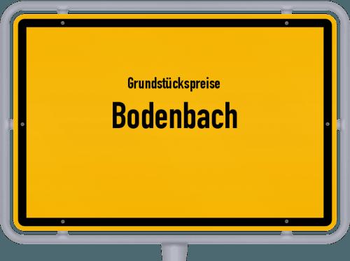 Grundstückspreise Bodenbach 2019