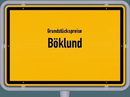 Grundstückspreise Böklund 2021