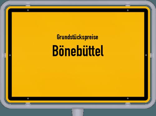 Grundstückspreise Bönebüttel 2021