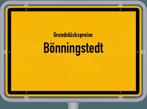 Grundstückspreise Bönningstedt 2021