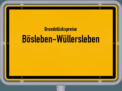 Grundstückspreise Bösleben-Wüllersleben 2019