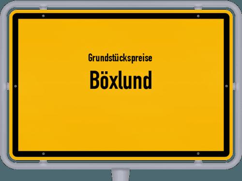 Grundstückspreise Böxlund 2021