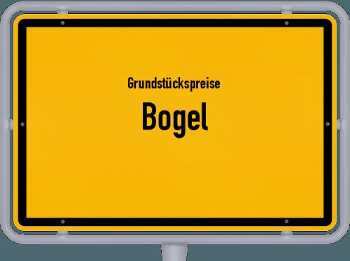 Grundstückspreise Bogel 2019