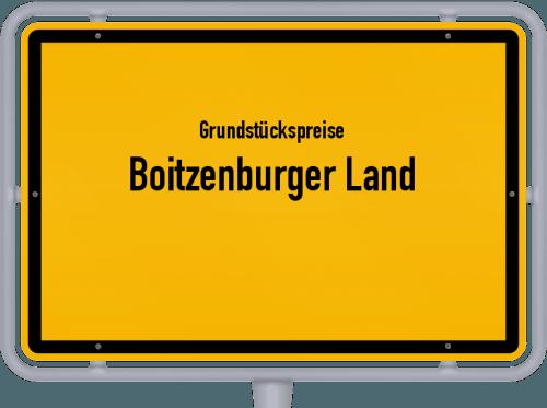 Grundstückspreise Boitzenburger Land 2021