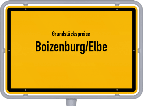 Grundstückspreise Boizenburg/Elbe 2019