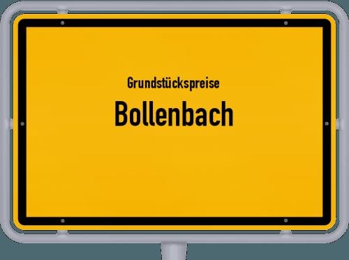 Grundstückspreise Bollenbach 2019