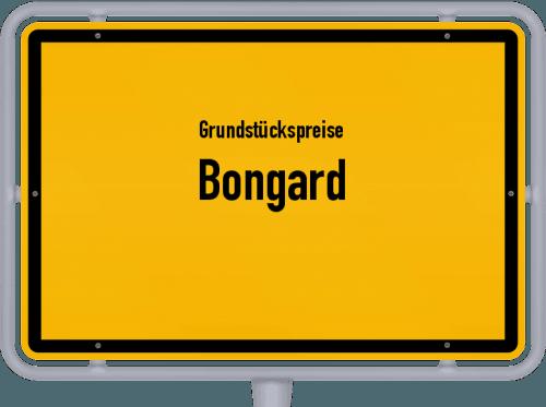 Grundstückspreise Bongard 2019