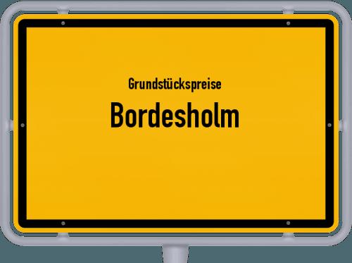 Grundstückspreise Bordesholm 2021