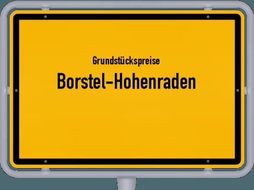 Grundstückspreise Borstel-Hohenraden 2021