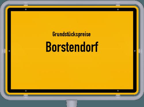 Grundstückspreise Borstendorf 2019