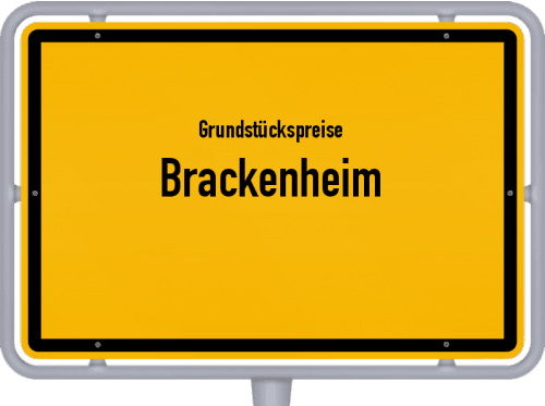 Grundstückspreise Brackenheim 2021