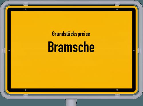 Grundstückspreise Bramsche 2021