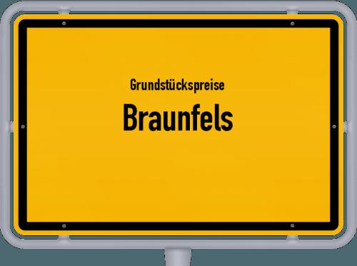 Grundstückspreise Braunfels 2020