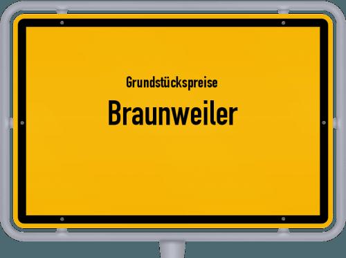 Grundstückspreise Braunweiler 2019