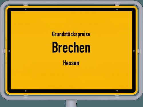 Grundstückspreise Brechen (Hessen) 2020