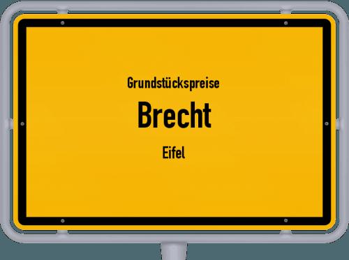 Grundstückspreise Brecht (Eifel) 2019