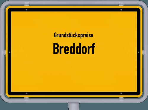 Grundstückspreise Breddorf 2019