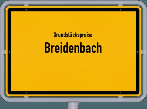 Grundstückspreise Breidenbach 2020
