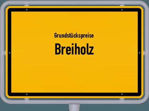 Grundstückspreise Breiholz 2021