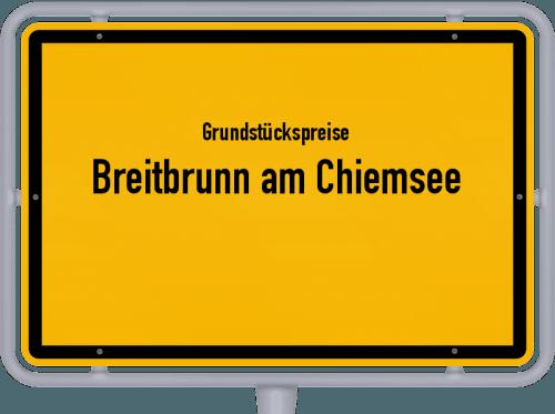 Grundstückspreise Breitbrunn am Chiemsee 2019