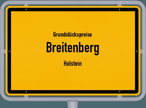 Grundstückspreise Breitenberg (Holstein) 2021