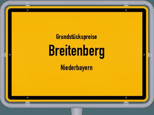 Grundstückspreise Breitenberg (Niederbayern) 2021