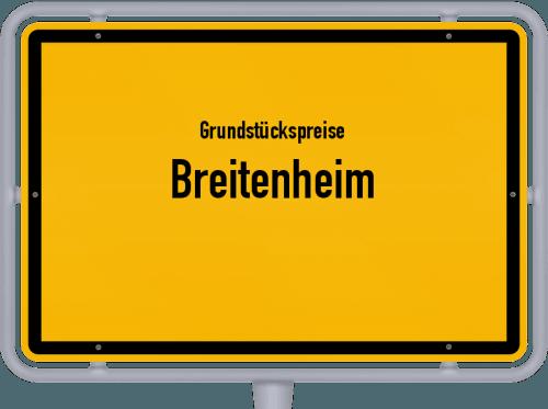 Grundstückspreise Breitenheim 2019
