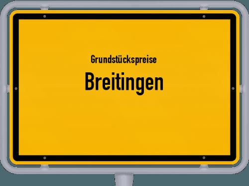 Grundstückspreise Breitingen 2018