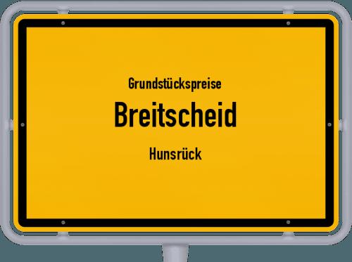 Grundstückspreise Breitscheid (Hunsrück) 2019