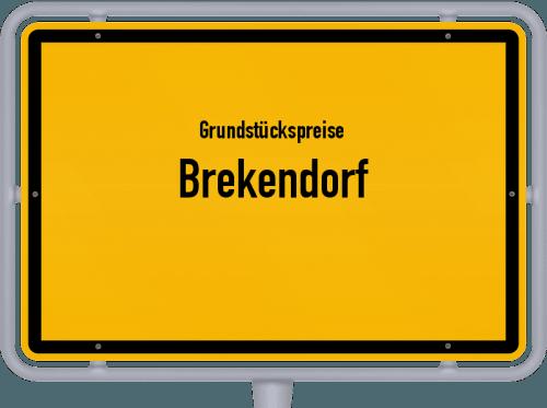 Grundstückspreise Brekendorf 2021