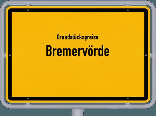 Grundstückspreise Bremervörde 2021
