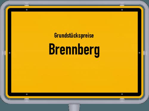 Grundstückspreise Brennberg 2019