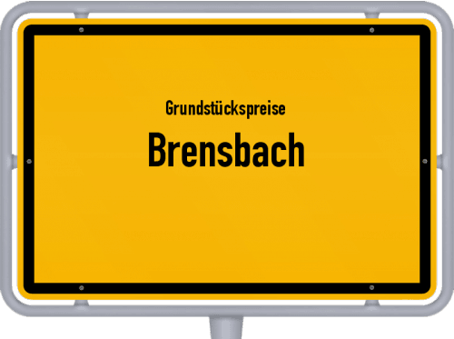 Grundstückspreise Brensbach 2019